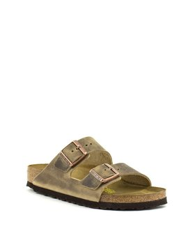 Birkenstock Arizona Tobacco Oiled Leather Narrow Width