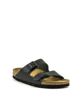 Birkenstock Arizona Black Smooth Leather Narrow Width