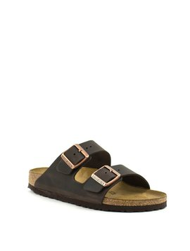 Birkenstock Arizona Havana Leather Narrow Width