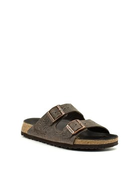 Birkenstock Arizona Relief Brown Leather Narrow Width