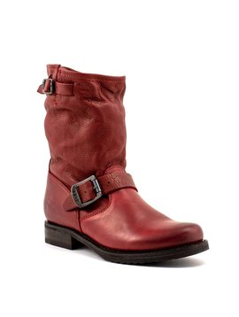 Frye Veronica Shortie Boot Red