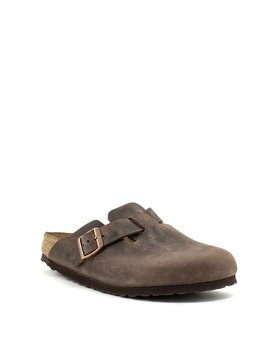 Birkenstock Boston Habana Leather Narrow