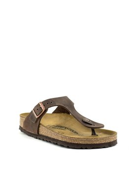 Birkenstock Gizeh Habana Leather Regular Width