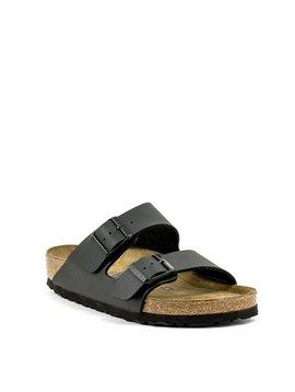Birkenstock Arizona Black Birko-Flor Soft Footbed Regular Width