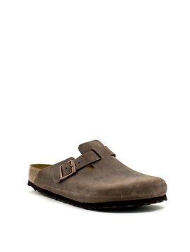 Birkenstock Boston Habana Leather Regular Width