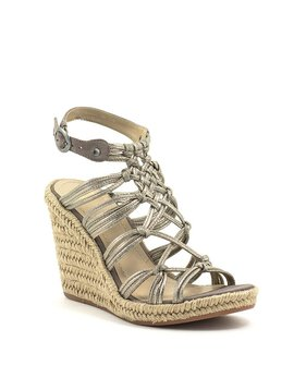 Johnston & Murphy Mindy Sandal Pewter