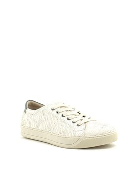 Johnston & Murphy Emerson Sneaker Off White Snake