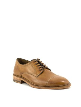 Men's Johnston & Murphy Campbell Cap Toe Shoe Tan