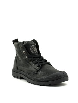 Men's Palladium Pampa Hi Cuff Leather Boot Black
