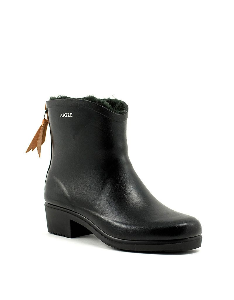 Aigle Ms Juliette Bot Fur Black