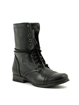 Steve Madden Troopa Boot Black