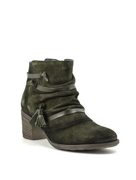 Unity In Diversity Jubilee Boot Dark Green Suede