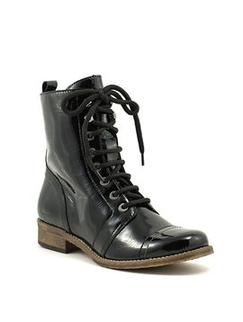 Unity In Diversity Liberty Boot Black Patent Leather
