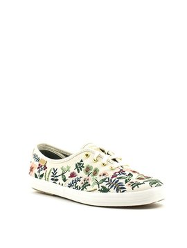 Keds Rifle Paper Champ Sneaker Herb Garden Natural