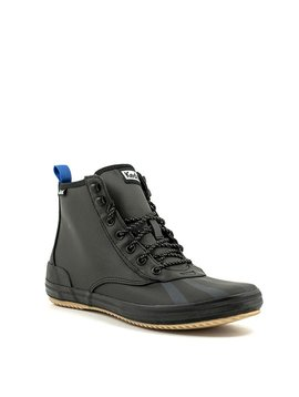 Keds Scout Splash Cozy Boot Black