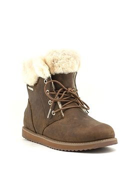 Emu Shoreline Leather Lo Boot Oak