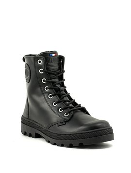 Palladium Pallabosse Off Lea Boot Black