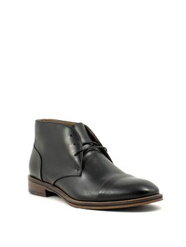 Men's Johnston & Murphy Conard Cap Toe Chukka Boot Black