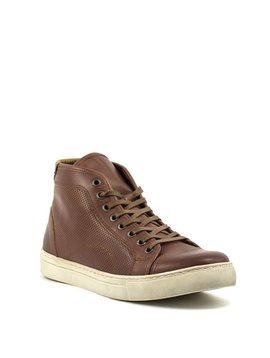 Men's Bulle 16C282 High Top Shoe Brandy/Cognac