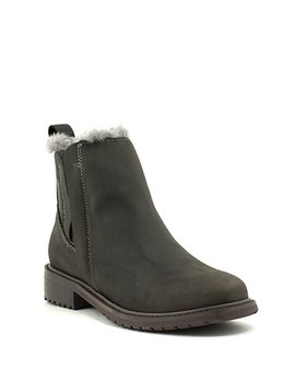 Emu Pioneer Leather Boot Charcoal