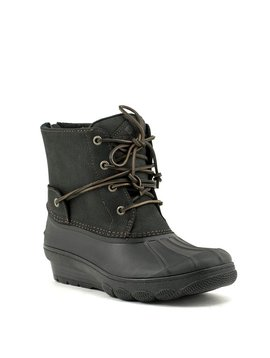 Sperry Saltwater Wedge Tide Boot Black