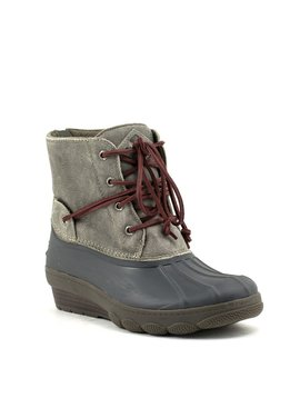 Sperry Saltwater Wedge Tide Boot Grey