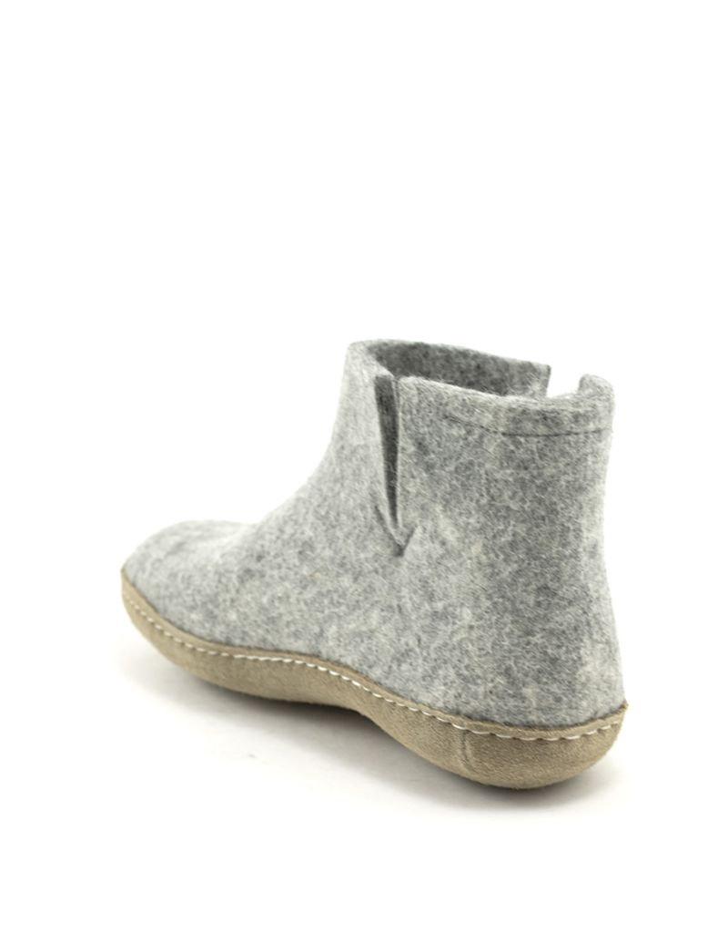 Glerups Glerups Boot Suede Sole Grey