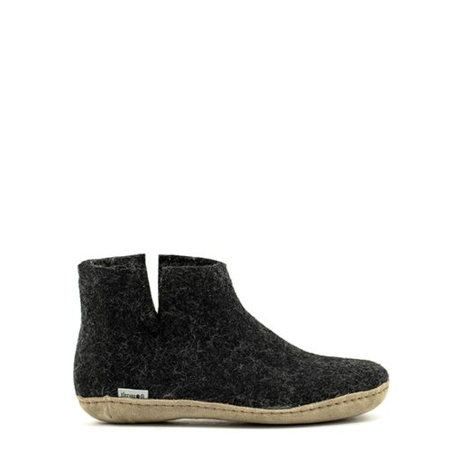 Glerups Glerups Boot Suede Sole Charcoal