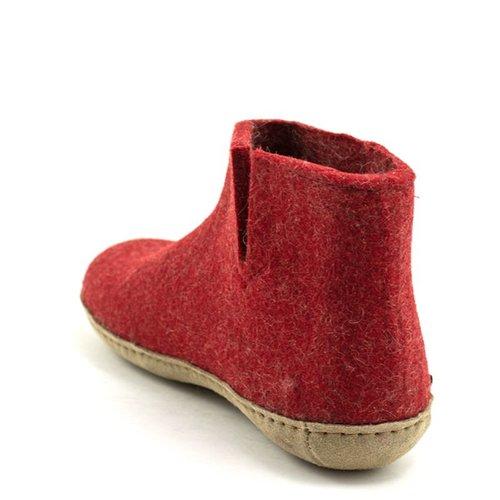 Glerups Glerups Boot Suede Sole Red
