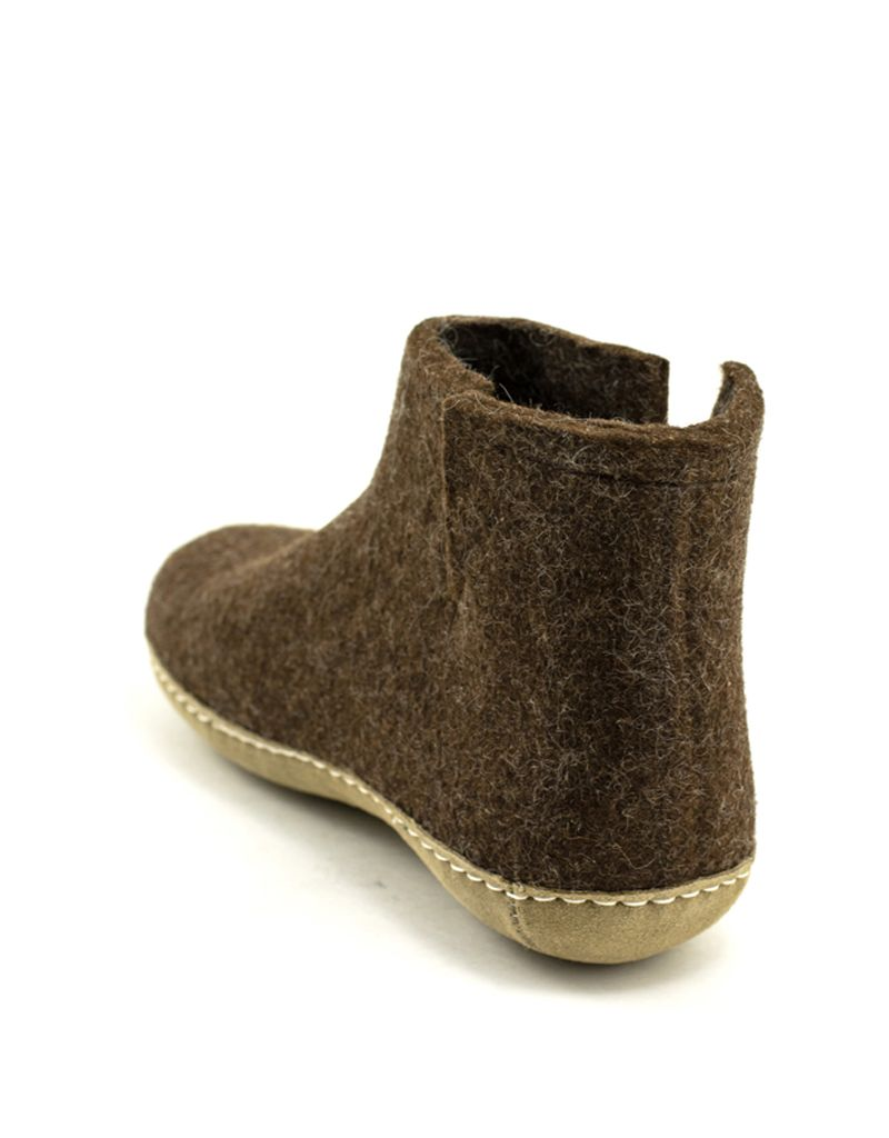 Glerups Glerups Boot Suede Sole Brown