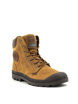 Men's Palladium Pampa Cuff WP Lux Boot Sunrise/Carafe