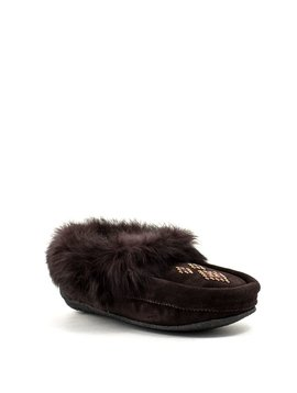 Manitobah Traveller Moccasin Dark Brown
