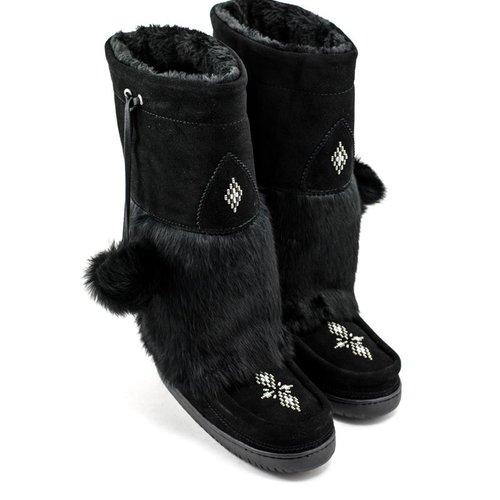 Manitobah Manitobah Snowy Owl Mukluk Black
