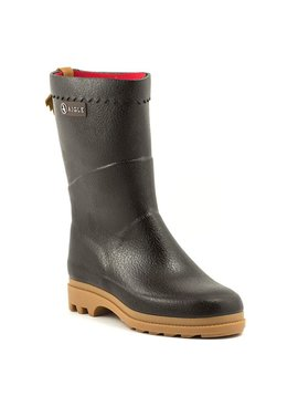 Aigle Bison Iso Rain Boot Brown