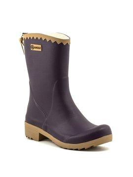 Aigle Victorine Bottillon Rain Boot Aubergine