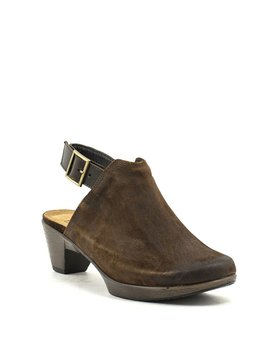 Naot Upgrade Clog Seal Brown Suede