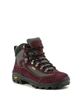Naot Journey-Lake Boot Burgundy/Black