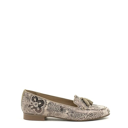 Unity In Diversity Unity In Diversity Adonis Shoe Floral Taupe