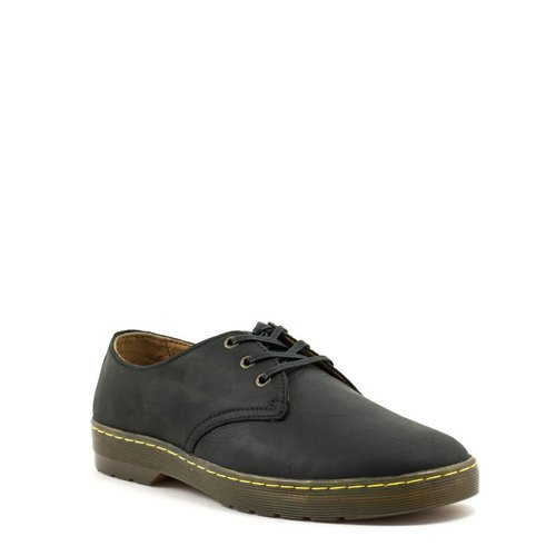 Doc Martens Men's Dr. Martens Coronado Shoe Black Wyoming Leather