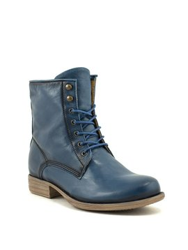 Bulle 17D145BLU Lace-up Boot Blue