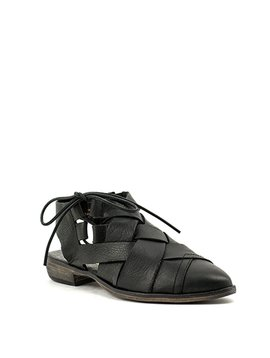 Free People Destino Woven Flat Black