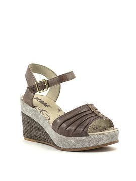 Dkode Latifa Wedge Sandal Brown