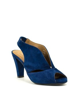 Ateliers Downey Sandal Blue Kid Suede