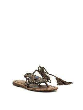 Veracruz Mozart Sandal Snake/Brown
