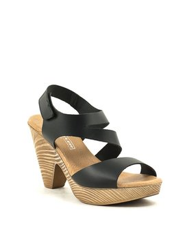 David Tyler 9884 Sandal Black
