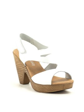 David Tyler 9884 Sandal White