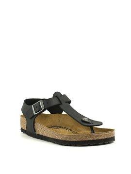Birkenstock Kairo Sandal Waxy Leather Black Regular Width