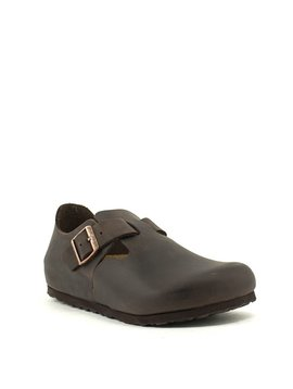 Birkenstock London Havana Waxy Leather Regular Width
