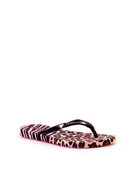 Ipanema Animal Print II Flip Flop Pink/Black