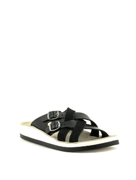 Fantasy Sandals S3002 Silvia Sandal Black